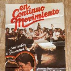Cine: CARTEL CINE ORIG ESTRENO EN CONTINUO MOVIMIENTO (1979) 70X100 / BOAZ DAVIDSON. Lote 278965573