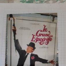 Cine: CARTEL LE GRAN ESCOGRIFFE AGOSTINA BELLI/ CKAYDE BRASSEUR /CKAUDE PINOTEAU DISNEY 1962 BUENO ESTAD. Lote 279520393