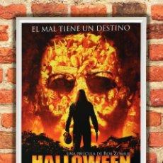 Cine: CUADRO HALLOWEEN - EL ORIGEN POSTER Y MARCO PELÍCULA. Lote 280865478