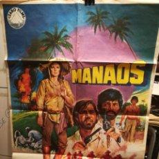 Cine: POSTER PELÍCULA MANAOS. Lote 282199233