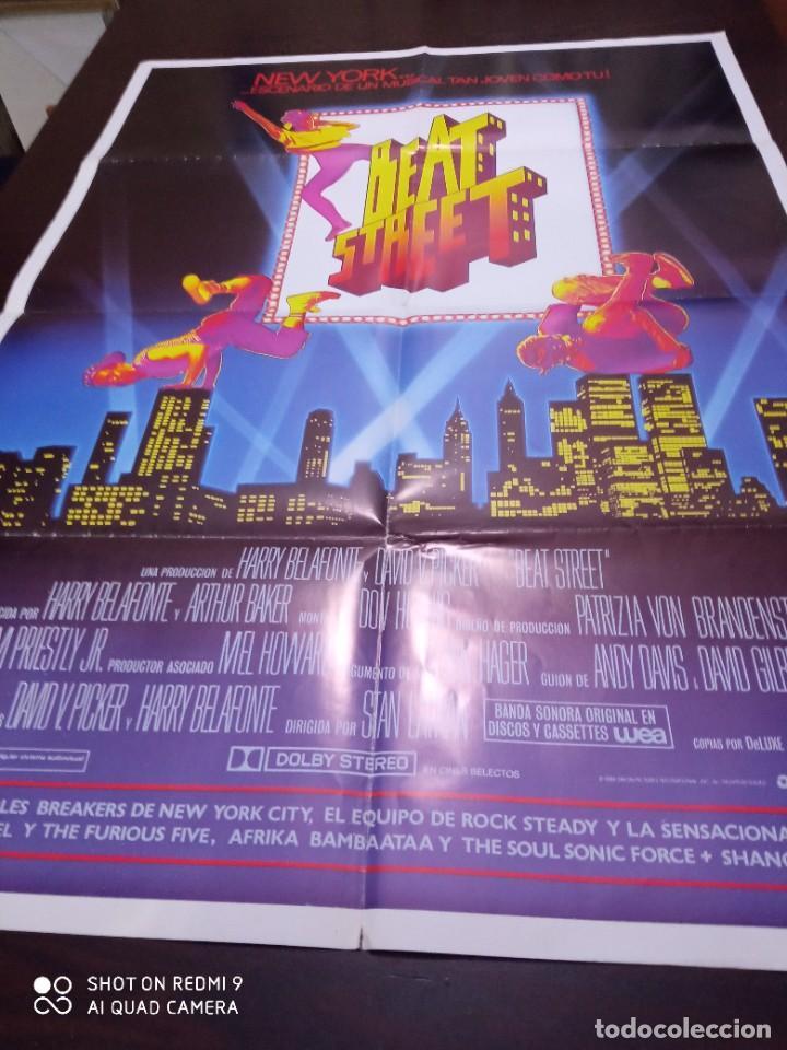 BEAT STREET POSTER ORIGINAL ESPAÑOL. MUSICAL. BREACKDANCE. DOBLADO (Cine - Posters y Carteles - Musicales)