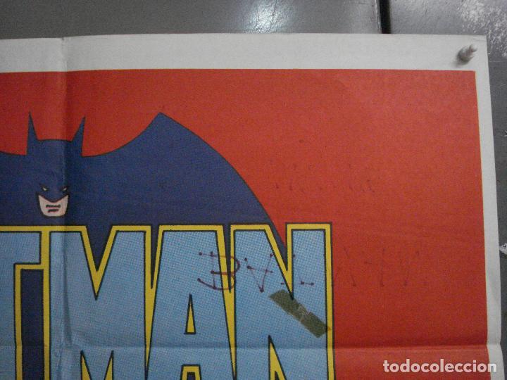 Cine: ABH41 BATMAN ADAM WEST COMIC TV SERIES POSTER ORIGINAL ESTRENO 70X100 - Foto 6 - 285298983