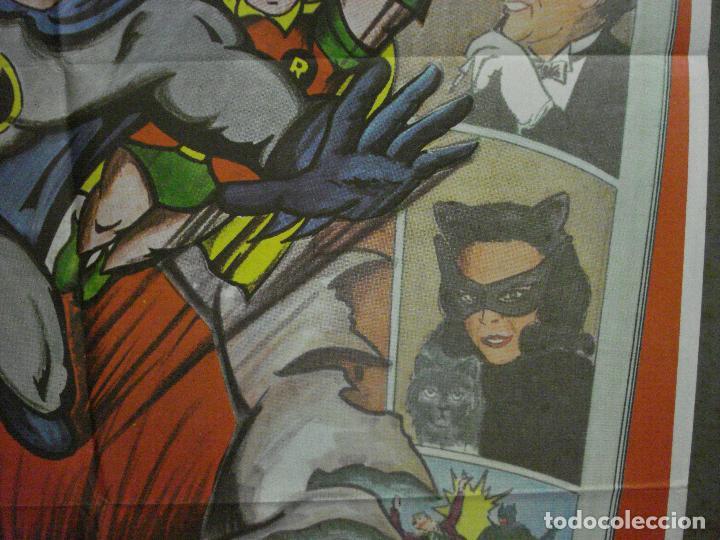 Cine: ABH41 BATMAN ADAM WEST COMIC TV SERIES POSTER ORIGINAL ESTRENO 70X100 - Foto 8 - 285298983
