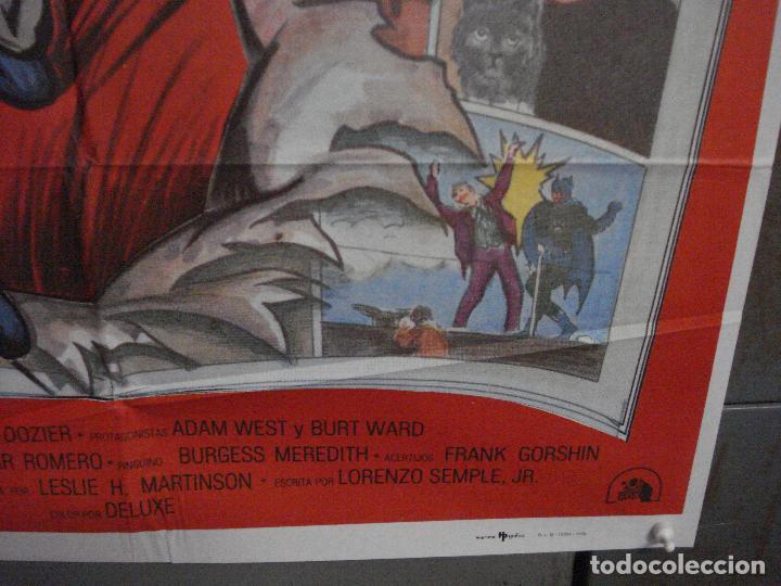 Cine: ABH41 BATMAN ADAM WEST COMIC TV SERIES POSTER ORIGINAL ESTRENO 70X100 - Foto 9 - 285298983