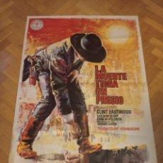 Cine: ANTIGUO CARTEL DE CINE ORIGINAL AÑOS 60 LA MUERTE TENÍA UN PRECIO. Lote 285333158
