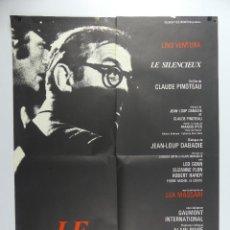 Cine: CARTEL DE CINE - LE SILENCIEUX. Lote 285545693