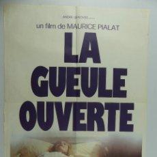 Cinema: CARTEL DE CINE - LA GUEULE OUVERTE. Lote 285546428