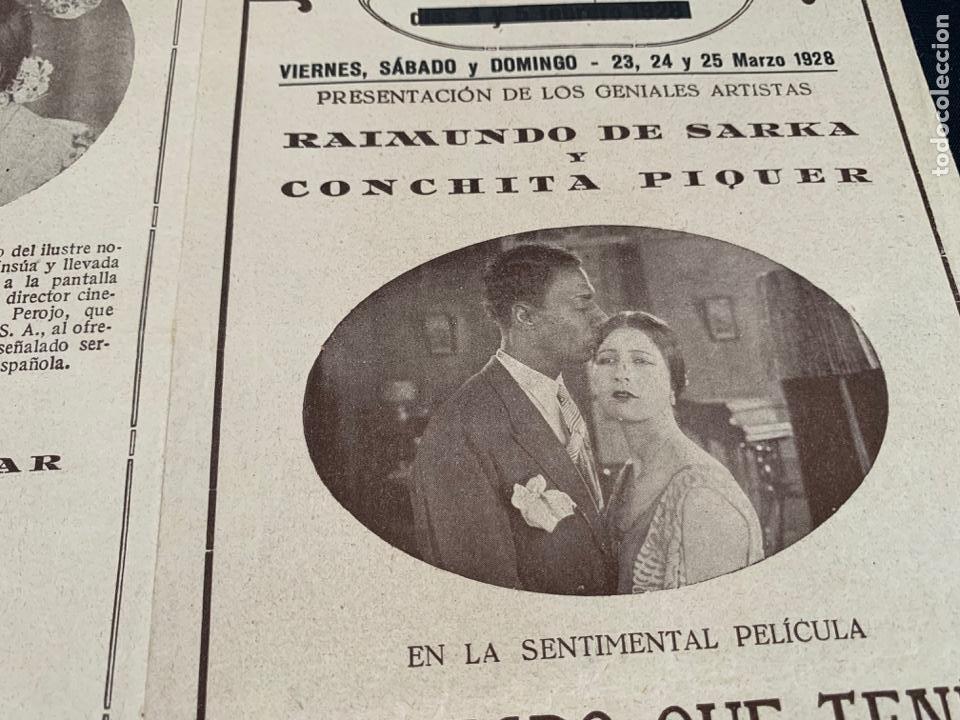 Cine: CARTEL CINE MUDO EL NEGRO QUE TENIA EL ALMA BLANCA 1928 CONCHA PIQUER - Foto 2 - 285631368