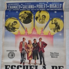 Cine: CARTEL DE CINE ESCUELA DE PERIODISMO. Lote 285648398
