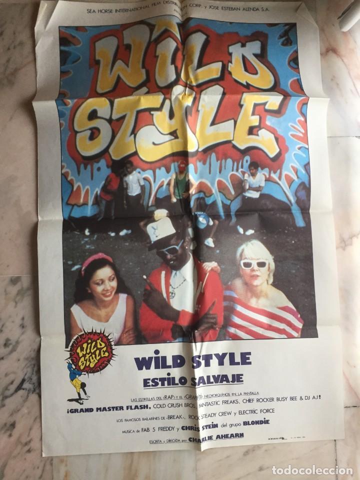 WILD STYLE ESTILO SALVAJE (Cine - Posters y Carteles - Musicales)