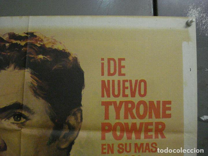 Cine: CDO M104 EL SIGNO DEL ZORRO TYRONE POWER LINDA DARNELL MAC POSTER ORIGINAL 70X100 ESPAÑOL R-63 - Foto 6 - 286151863