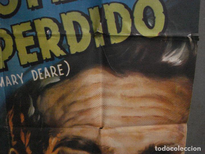 Cine: CDOX M107 MISTERIO EN EL BARCO PERDIDO GARY COOPER CHARLTON HESTON POSTER ORG 3 hojas 100X200 ESTREN - Foto 11 - 286154743