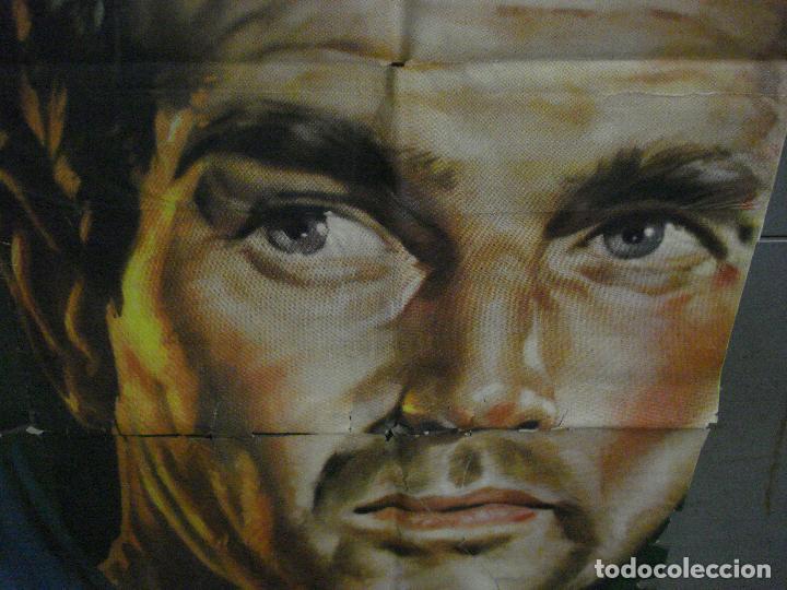 Cine: CDOX M107 MISTERIO EN EL BARCO PERDIDO GARY COOPER CHARLTON HESTON POSTER ORG 3 hojas 100X200 ESTREN - Foto 12 - 286154743