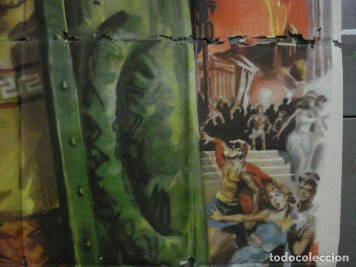 Cine: CDO M113 LOS ULTIMOS DIAS DE POMPEYA STEVE REEVES SERGIO LEONE PEPLUM POSTER ORIG 100x140 ESTRENO - Foto 7 - 286163033