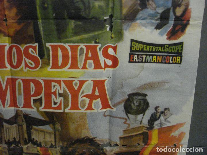 Cine: CDO M113 LOS ULTIMOS DIAS DE POMPEYA STEVE REEVES SERGIO LEONE PEPLUM POSTER ORIG 100x140 ESTRENO - Foto 8 - 286163033