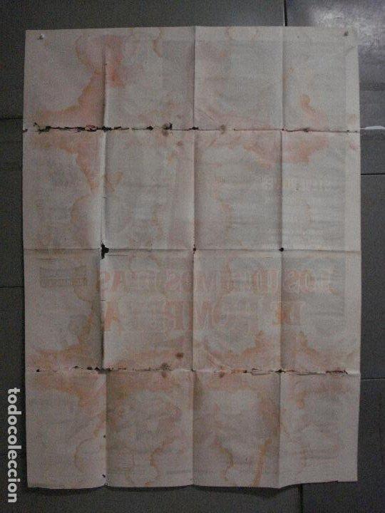 Cine: CDO M113 LOS ULTIMOS DIAS DE POMPEYA STEVE REEVES SERGIO LEONE PEPLUM POSTER ORIG 100x140 ESTRENO - Foto 10 - 286163033