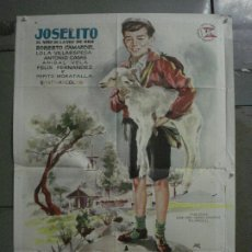 Cine: CDO M118 EL RUISEÑOR DE LAS CUMBRES JOSELITO JANO POSTER ORIGINAL 70X100 ESTRENO. Lote 286172283