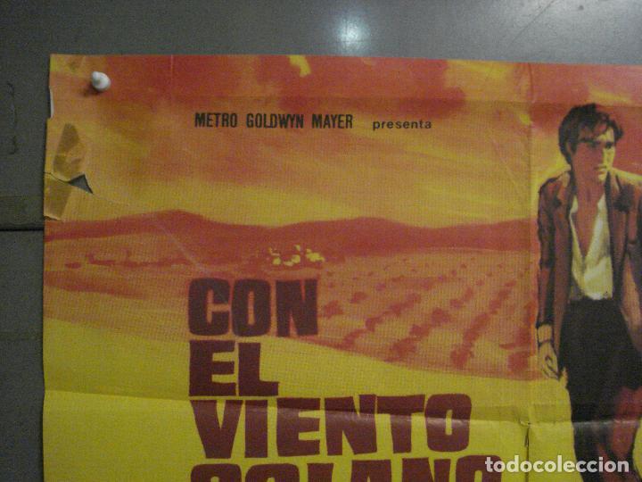 Cine: CDO M120 CON EL VIENTO SOLANO IMPERIO ARGENTINA ANTONIO GADES POSTER ORIGINAL 70X100 ESRENO - Foto 2 - 286174983