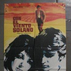 Cine: CDO M120 CON EL VIENTO SOLANO IMPERIO ARGENTINA ANTONIO GADES POSTER ORIGINAL 70X100 ESRENO. Lote 286174983