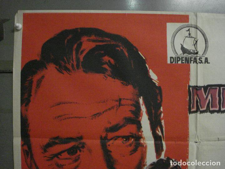 Cine: CDO M121 MISTERIO EN EL BARCO PERDIDO GARY COOPER CHARLTON HESTON POSTER ORIGINAL 70X100 ESTRENO - Foto 2 - 286175733
