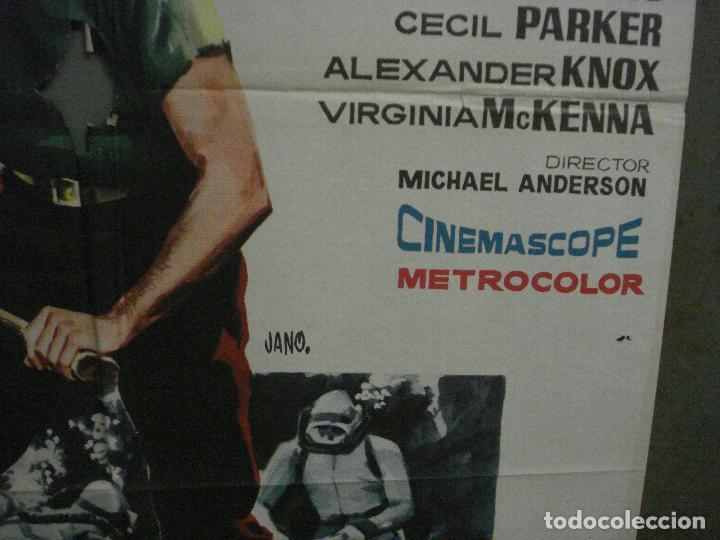 Cine: CDO M121 MISTERIO EN EL BARCO PERDIDO GARY COOPER CHARLTON HESTON POSTER ORIGINAL 70X100 ESTRENO - Foto 8 - 286175733