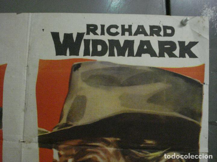 Cine: CDO M122 DESAFIO EN LA CIUDAD MUERTA ROBERT TAYLOR RICHARD WIDMARK JANO POSTER ORIG 70X100 ESTRENO - Foto 6 - 286176518