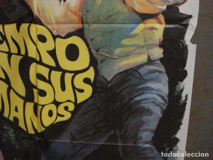 Cine: CDO M123 EL TIEMPO EN SUS MANOS ROD TAYLOR MAC POSTER ORIGINAL 70X100 ESTRENO - Foto 7 - 286177223