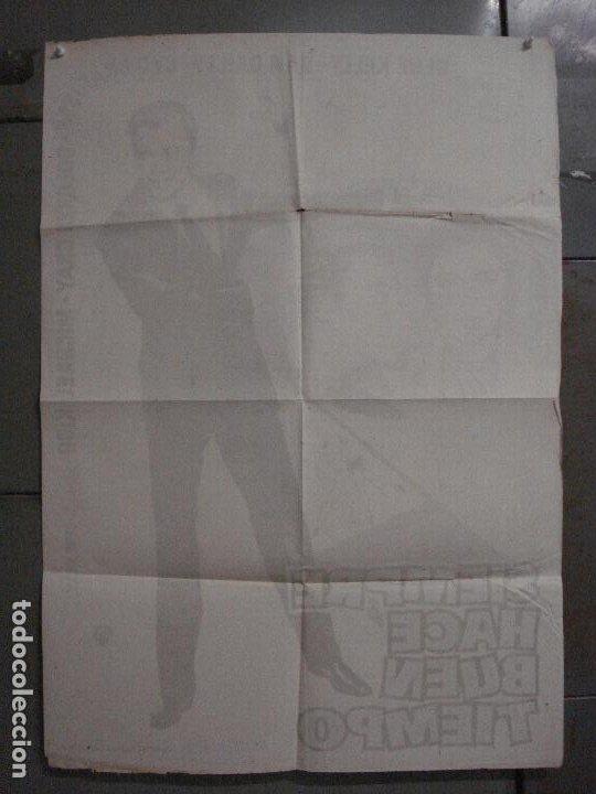 Cine: CDO M124 SIEMPRE HACE BUEN TIEMPO GENE KELLY CYD CHARISSE DONEN JANO POSTER ORIGINAL ESTRENO 70X100 - Foto 10 - 286178238