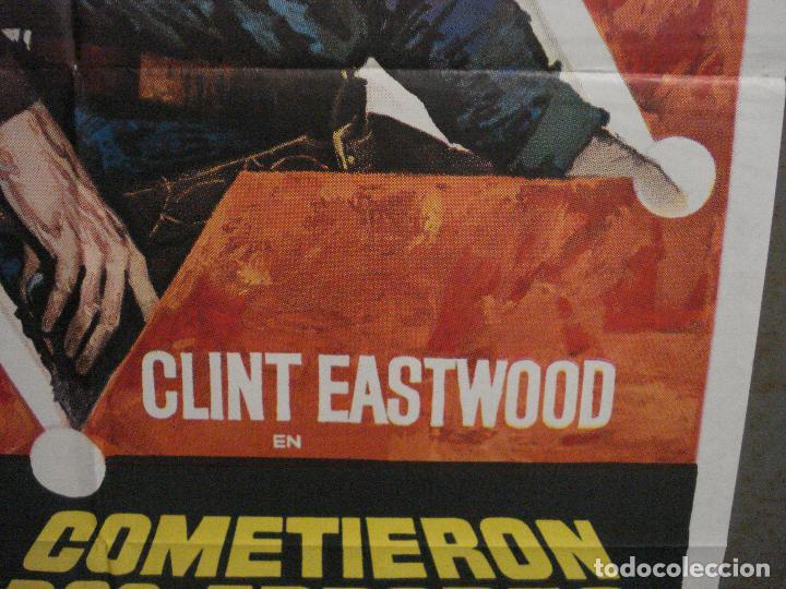 Cine: CDO M140 COMETIERON DOS ERRORES CLINT EASTWOOD MAC POSTER ORIGINAL 70X100 DEL ESTRENO - Foto 7 - 286281083