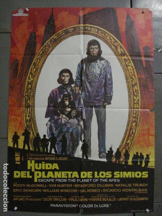 CDO M146 HUIDA DEL PLANETA DE LOS SIMIOS POSTER MAC ORIGINAL 70X100 ESTRENO (Cine - Posters y Carteles - Ciencia Ficción)