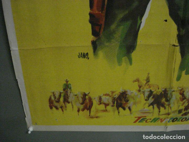 Cine: CDO M154 LA PRADERA SIN LEY KIRK DOUGLAS KING VIDOR JANO POSTER ORIGINAL 70X100 ESTRENO - Foto 5 - 286314078