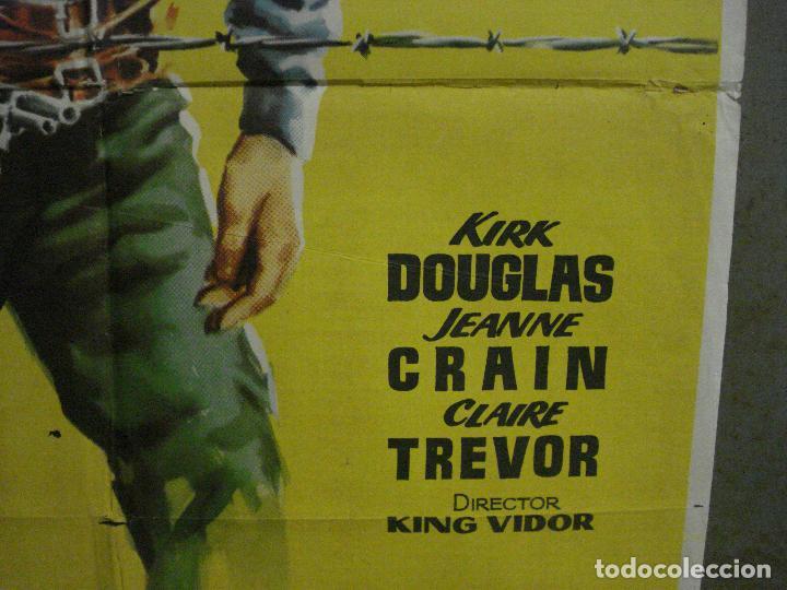 Cine: CDO M154 LA PRADERA SIN LEY KIRK DOUGLAS KING VIDOR JANO POSTER ORIGINAL 70X100 ESTRENO - Foto 8 - 286314078