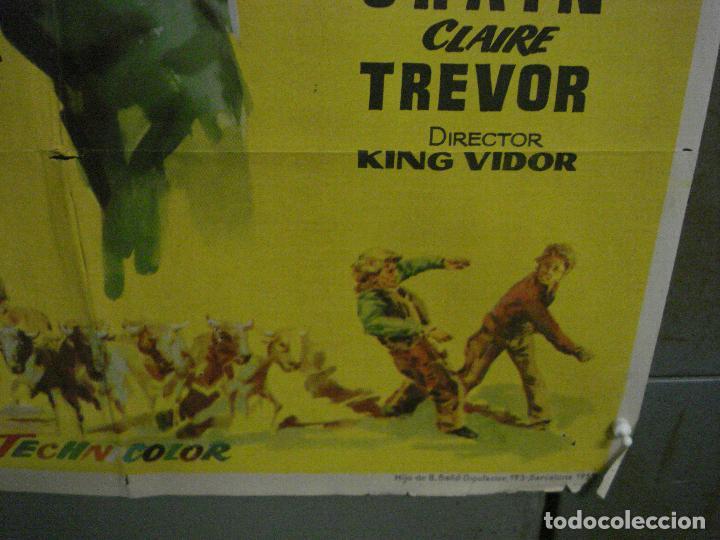 Cine: CDO M154 LA PRADERA SIN LEY KIRK DOUGLAS KING VIDOR JANO POSTER ORIGINAL 70X100 ESTRENO - Foto 9 - 286314078