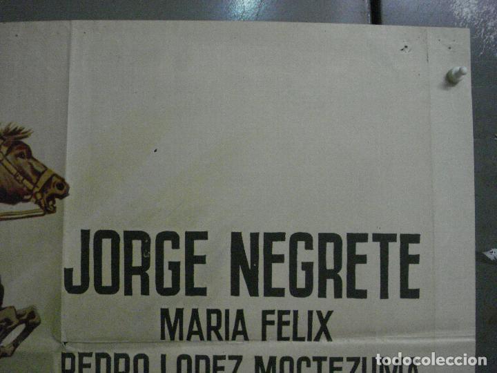 Cine: CDO M156 EL PEÑON DE LAS ANIMAS JORGE NEGRETE MARIA FELIX POSTER ORIGINAL ESPAÑOL 70X100 R-65 - Foto 6 - 286318383