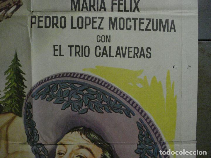 Cine: CDO M156 EL PEÑON DE LAS ANIMAS JORGE NEGRETE MARIA FELIX POSTER ORIGINAL ESPAÑOL 70X100 R-65 - Foto 7 - 286318383