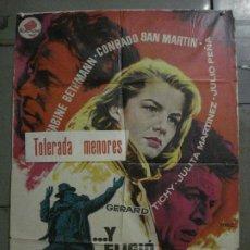 Cine: CDO M157 Y ELIGIO EL INFIERNO CONRADO SAN MARTIN JULITA MARTINEZ MAC POSTER ORIGINAL 70X100 ESTRENO. Lote 286319283