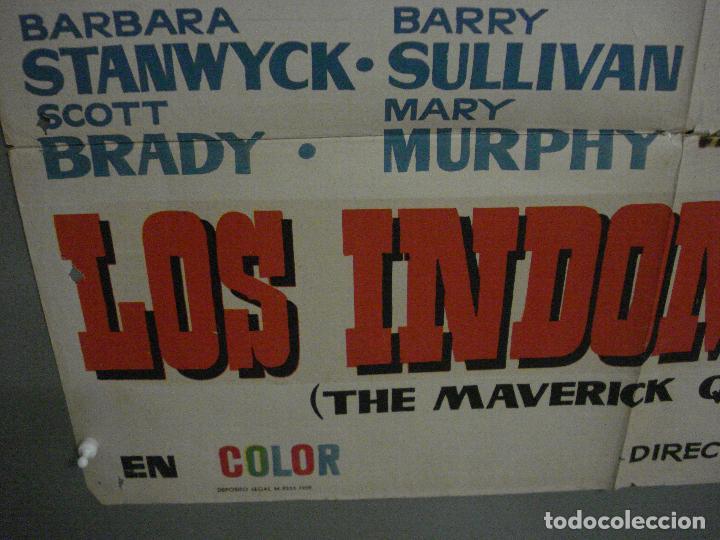 Cine: CDO M160 LOS INDOMABLES BARBARA STANWYCK BARRY SULLIVAN POSTER ORIGINAL 70X100 ESTRENO - Foto 5 - 286322468