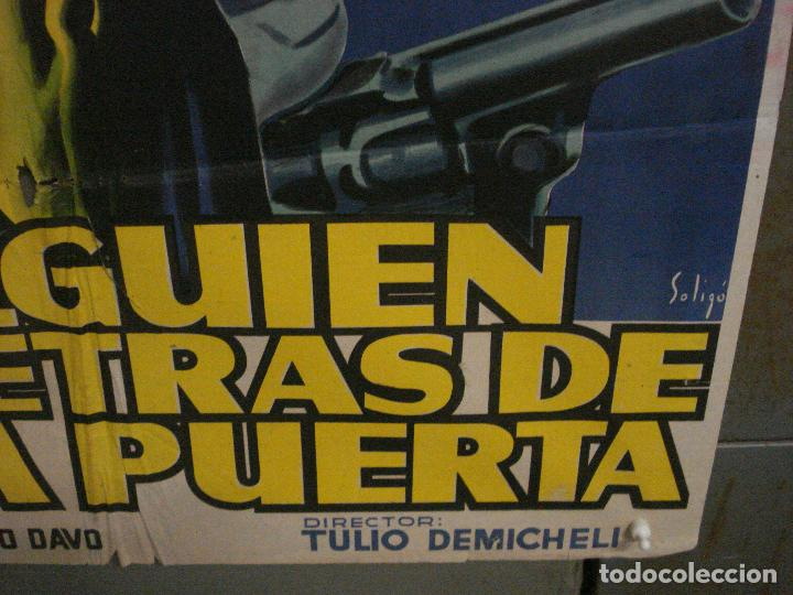 Cine: CDO M170 HAY ALGUIEN DETRAS DE LA PUERTA AURORA BAUTISTA SOLIGO POSTER 70X100 ESTRENO LITOGRAFIA - Foto 9 - 286408273