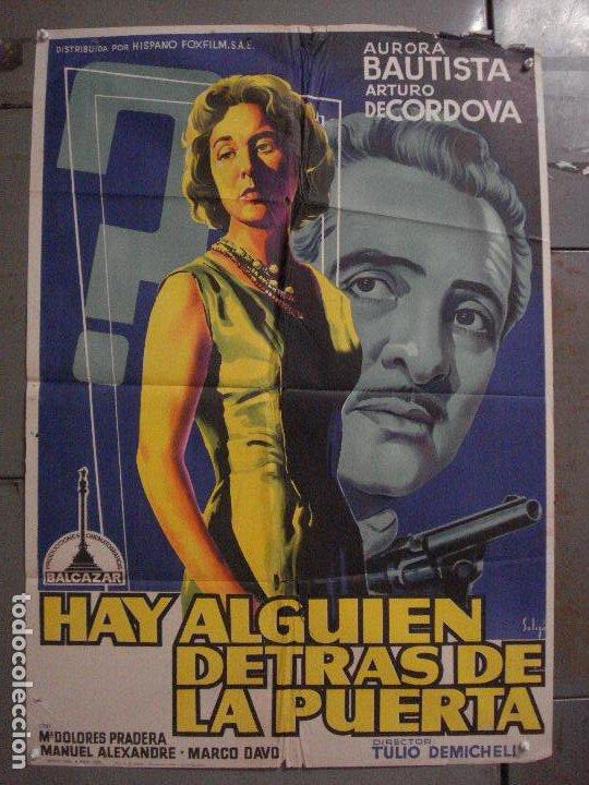 CDO M170 HAY ALGUIEN DETRAS DE LA PUERTA AURORA BAUTISTA SOLIGO POSTER 70X100 ESTRENO LITOGRAFIA (Cine - Posters y Carteles - Clasico Español)