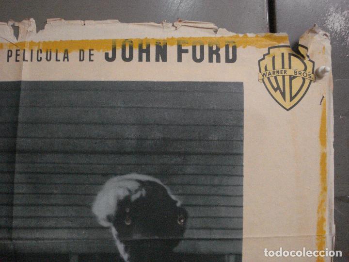 Cine: CDO M171 EL SARGENTO NEGRO JOHN FORD JEFFREY HUNTER POSTER ORIGINAL 70X100 ESTRENO - Foto 6 - 286408918