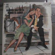 Cine: CDO M173 EL MARIDO AURORA BAUTISTA ALBERTO SORDI JANO POSTER ORIGINAL 70X100 ESTRENO. Lote 286410158
