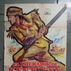 Cine: CDO M174 EL LUCHADOR DE KENTUCKY JOHN WAYNE JANO POSTER ORIGINAL 70X100 ESTRENO. Lote 286410683