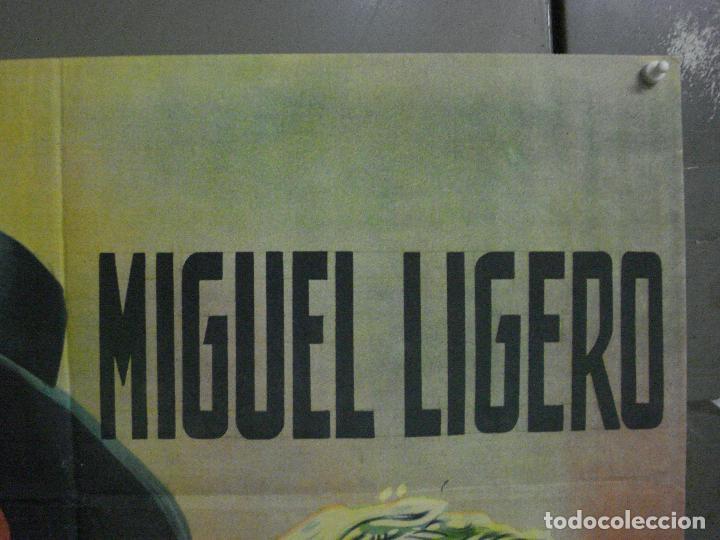 Cine: ABI44 PEPE CONDE MIGUEL LIGERO PASTORA PEÑA POSTER ORIGINAL ESPAÑOL 70X100 LITOGRAFIA R-61 - Foto 6 - 286431633