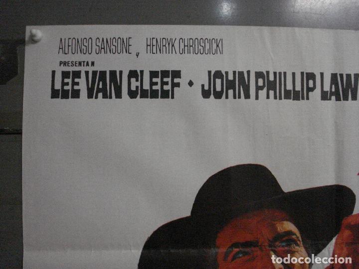 Cine: ABI71 DE HOMBRE A HOMBRE LEE VAN CLEEF SPAGHETTI POSTER ORIGINAL 70X100 ESTRENO - Foto 2 - 286453158