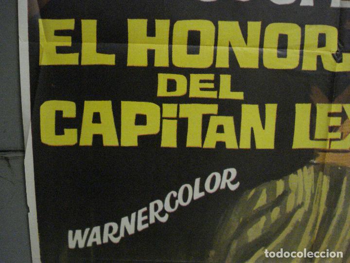 Cine: ABI74 EL HONOR DEL CAPITAN LEX GARY COOPER POSTER ORIGINAL 70X100 R-66 - Foto 4 - 286455918
