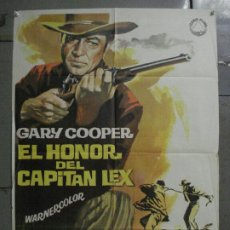 Cine: ABI74 EL HONOR DEL CAPITAN LEX GARY COOPER POSTER ORIGINAL 70X100 R-66. Lote 286455918