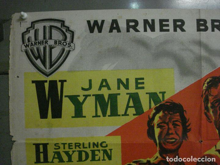 Cine: ABI83 TRIGO Y ESMERALDA STERLING HAYDEN JANE WYMAN MCP POSTER ORIGINAL 70X100 ESTRENO LITOGRAFIA - Foto 2 - 286483703
