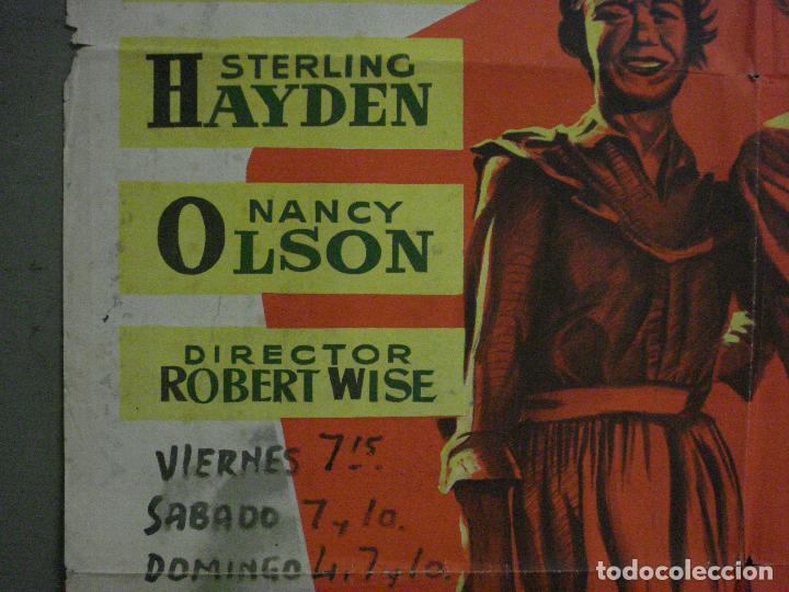 Cine: ABI83 TRIGO Y ESMERALDA STERLING HAYDEN JANE WYMAN MCP POSTER ORIGINAL 70X100 ESTRENO LITOGRAFIA - Foto 3 - 286483703