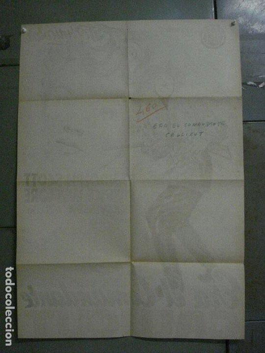 Cine: ABI84 ERA EL COMANDANTE CALLICUT RANDOLPH SCOTT POSTER ORIGINAL 70X100 ESTRENO LITOGRAFIA - Foto 10 - 286484458