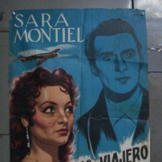 Cine: ABI88 EL MISTERIOSO VIAJERO DEL CLIPPER SARA MONTIEL ABEL POSTER ORG 70X100 ESPAÑOL LITOGRAFIA. Lote 286486643